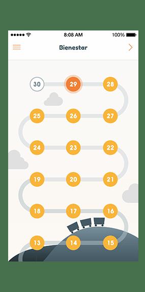 itinerario app mindfulness intimind